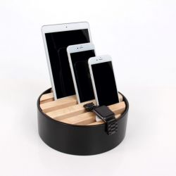 Trellis Desktop Charger | Black