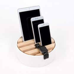 Trellis Desktop Charger | White
