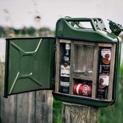 Kanister-Minibar | Grün