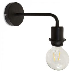 Wall Lamp Elbow | Black