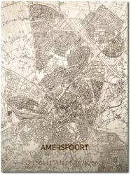 Wooden Wall Decoration | City Map | Amersfoort