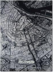 Metall-Wanddekoration | Stadtplan | Amsterdam