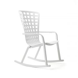 Rocking Chair Folio | White
