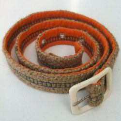 Franka Belt Orange