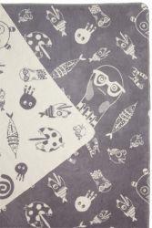 Blanket Sea World Grey/Natural