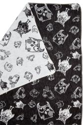 Blanket Owls & Mouses Black/Natural