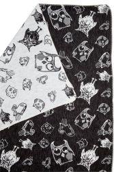 Blanket Owls & Mouses Black/Natural