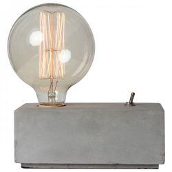 Tafellamp Beton Blok Eureka | Grijs
