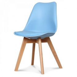 Chaise Scandi | Bleu Adriatique