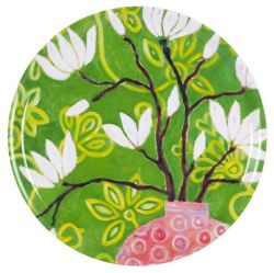 Tray In Bloom Green