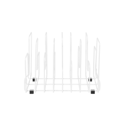 Magazine Rack In The Neighborhood | White