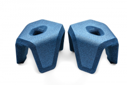 Toilet Stool stuul | Blue