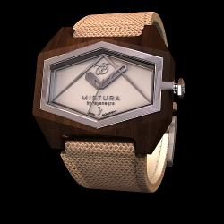 Unendliche Uhr | Nuvola Silber