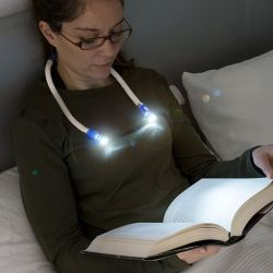 LED-Leuchte zum Lesen des Halses