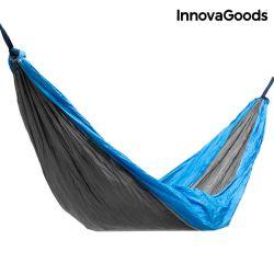 Double Camping Hammock Swing & Rest | Blue