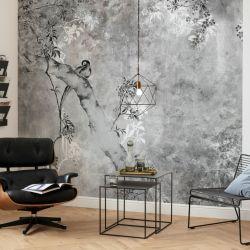 Wandbild Highland Trees | 300 x 280 cm