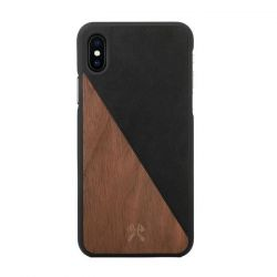 Houten iPhone Splitcover | Notenhout