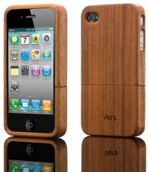 Slimcase I-Phone 4/4S walnut