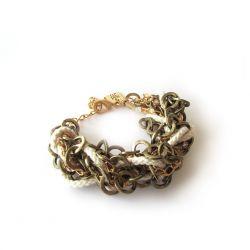 Iris Bracelet Ecru