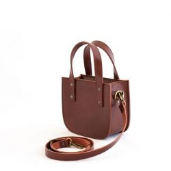 Tote Bag Small ISABEL | Brown