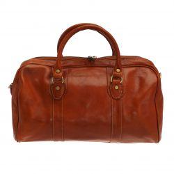 Travel Bag Antonello   Natural Brown