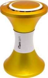 ITamTam Low stool - Portable iPod Dock Yellow