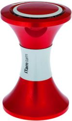 ITamTam Low stool - Portable iPod Dock Red