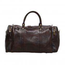 Travel Bag Colombo   Dark Brown