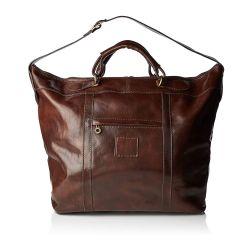 Travel Bag Viareggio   Dark Brown