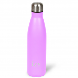 Thermo Trinkflasche 500ml | Sandstein Lila