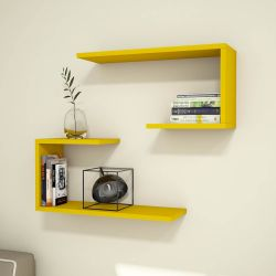 Shelf J2 Set of 2 | Yellow