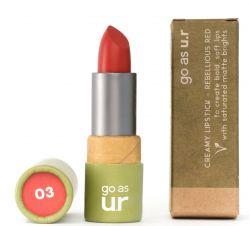 Creamy Lipstick | Rebellious Red