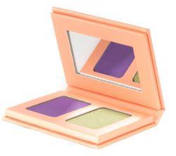 Bright Eyeshadow | Moss Green & Mystical Violet