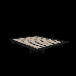 Bedframe Japan | Zwart