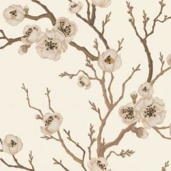 Wall Mural Japanese Floral | Cream