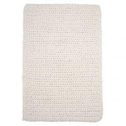 Teppich Crochet 60 x 90 cm | Weiß