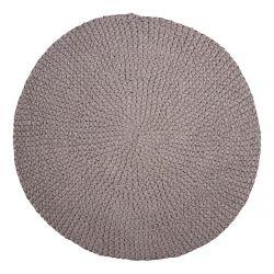 Tapijt Crochet D 80 cm | Grijs