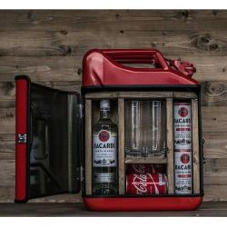 Jerrycan Bar | Rood