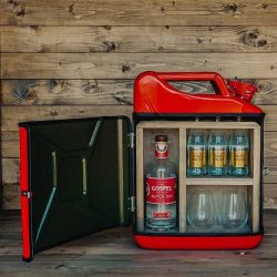 Jerrycan Gin Bar | Red