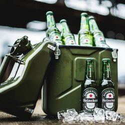 Jerrycan 10L Kühlbox | Grün