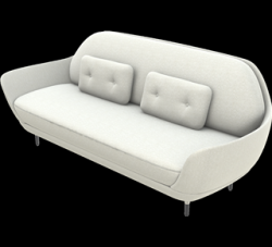 Sofa Favn | Sable