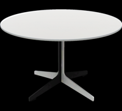 Space Table JL60 | Table basse blanc