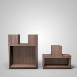 Join Candleholder | Walnut