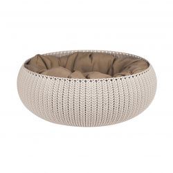 Pet Bed Curver Cozy Ø 50 cm | Crème