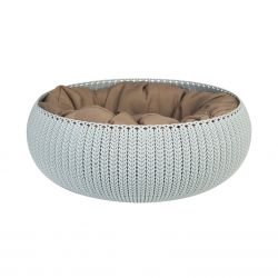 Pet Bed Curver Cozy Ø 50 cm | Light Blue