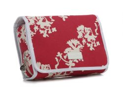 Fold Out Toiletry Bag Japan Red