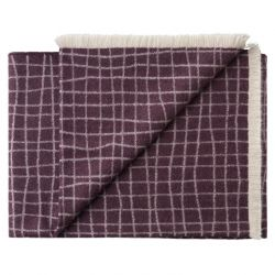 Plaid Juliaca 130 x 200 cm | Violet Purple
