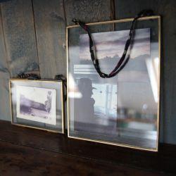 Kiko Brass Frame Portrait