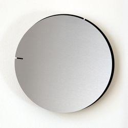 Analog Wall Clock Melancholia | Silver Black
