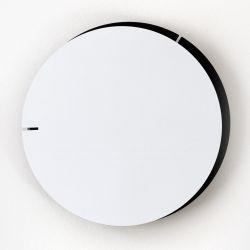 Analog Wall Clock Melancholia | White Black